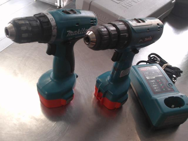Pair dril 14v+chargeur