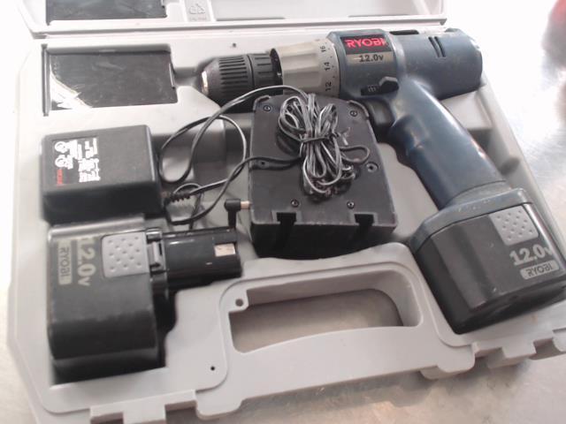 Drill ryobi 12v+case