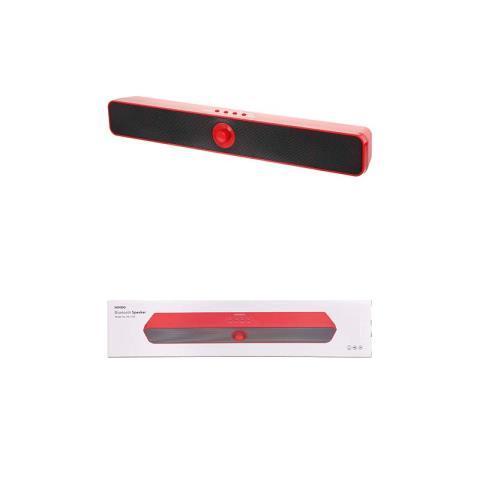 Speaker barre rouge bouton au milieux