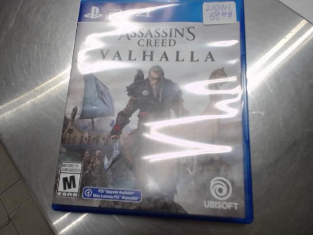 1cd ps4 assassins creed valhalla