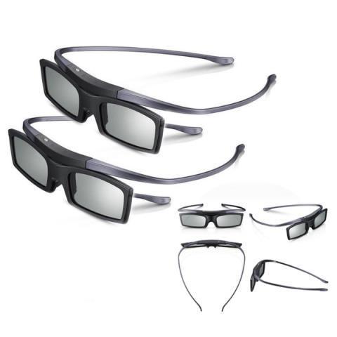 2pc 3d 4k hd uhd suhd active tv glasses