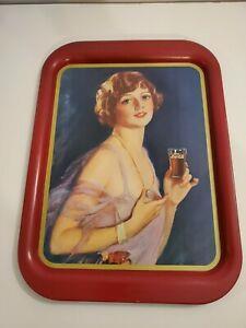 1974 tray 1927 calendar girl