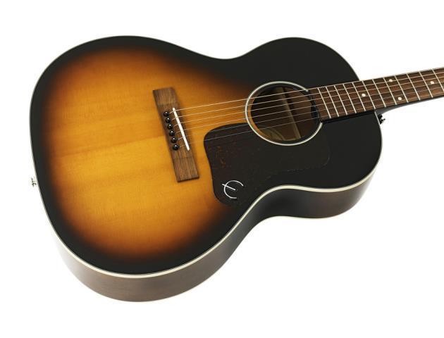 Guitare acoustique epiphone sunburst ave