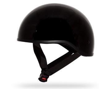 Casque scooter, mobilette cheval, noir