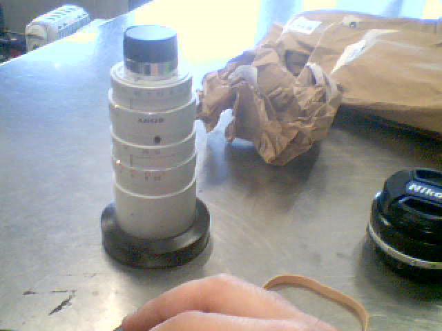 Lentille de camera 75mm 1.8