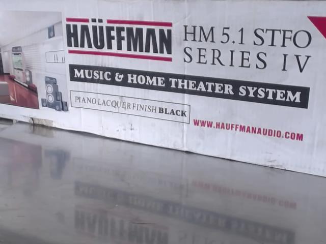 Sound system ''white van''