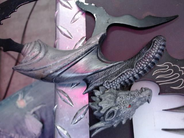 Couteau dragon chine