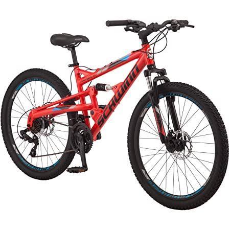 Scwinn quality mountain red biike