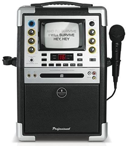 Karaoke the singing machine