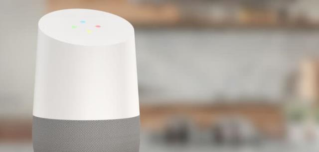 Google home + fils (petit trou dans home