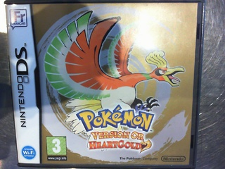 Pokemon version or heartgold