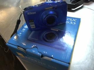 Nikon coolpix s33 bleu achat ici