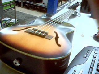 Archtop tenor ukulele + gigbag