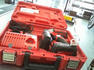 Kit impact drill +2 batt+ch