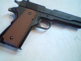 Pistolet a plomb full metal blowback