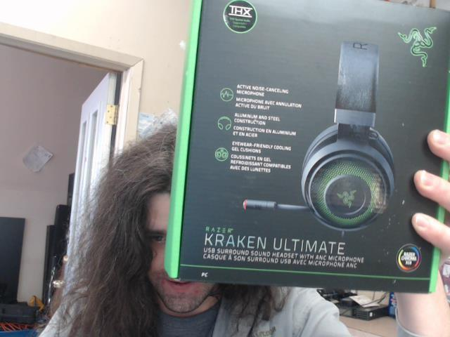 Gaming headset kraken ultimate